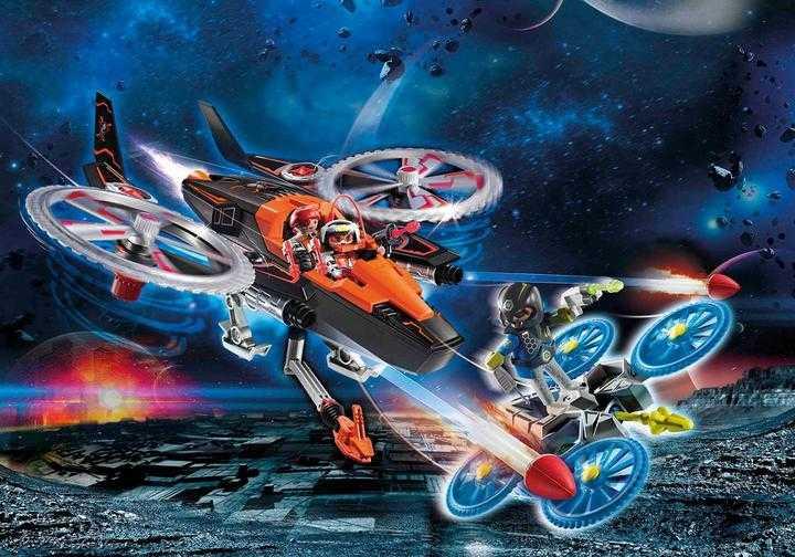 PLAYMOBIL Galaxy piratenhelikopter (70023)