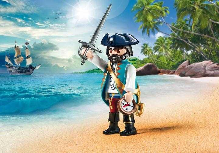 PLAYMOBIL Piraat met compas (70032)