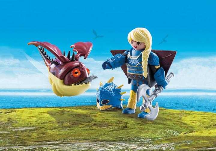 PLAYMOBIL Astrid in vliegpak met Schrokbakkes (70041)