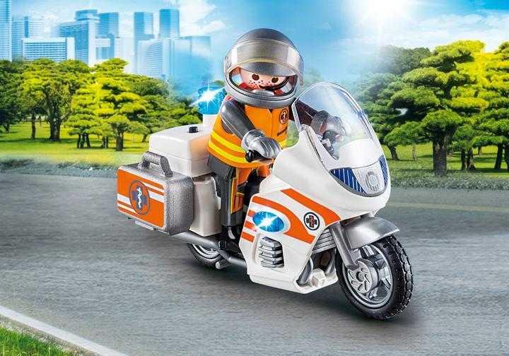 PLAYMOBIL Spoedarts op moto (70051)