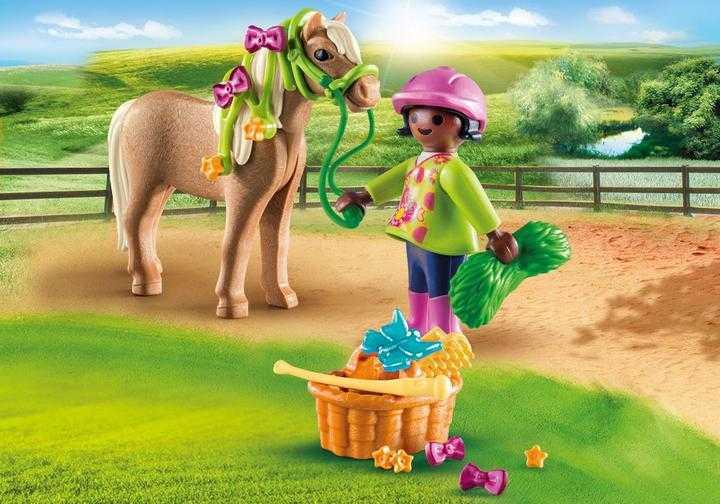 PLAYMOBIL Meisje met pony (70060)