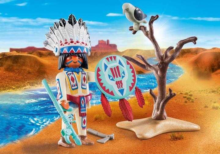 PLAYMOBIL Inheems stamhoofd (70062)