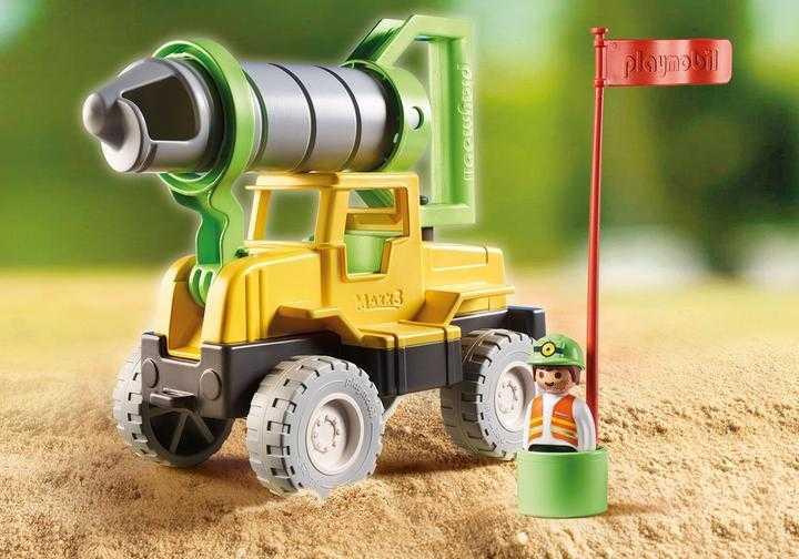 PLAYMOBIL Vrachtwagen met zandboor (70064)