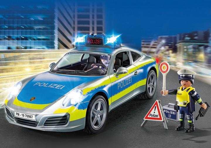 PLAYMOBIL Porsche 911 Carrera 4S Politie - grijs (70067)