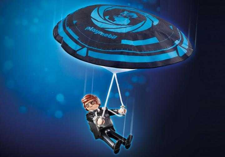 PLAYMOBIL: THE MOVIE Rex Dasher met parachute (70070)