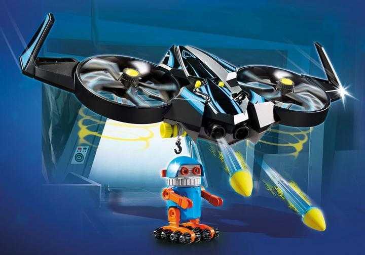 PLAYMOBIL: THE MOVIE Robotitron met drone (70071)