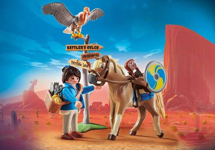 PLAYMOBIL: THE MOVIE Marla met paard (70072)