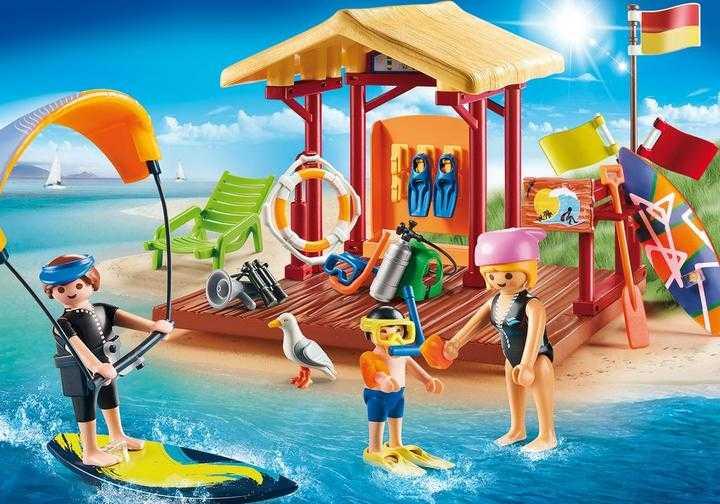 PLAYMOBIL Wassersport-Schule (70090)