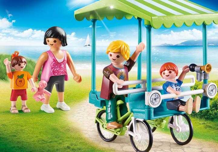 PLAYMOBIL Familiefiets (70093)