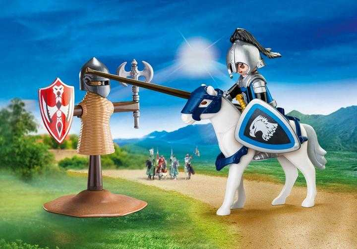 PLAYMOBIL Knights Jousting Carry Case S (70106)