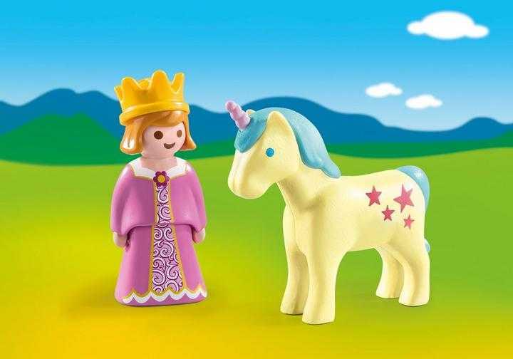 PLAYMOBIL Prinses en eenhoorn (70127)