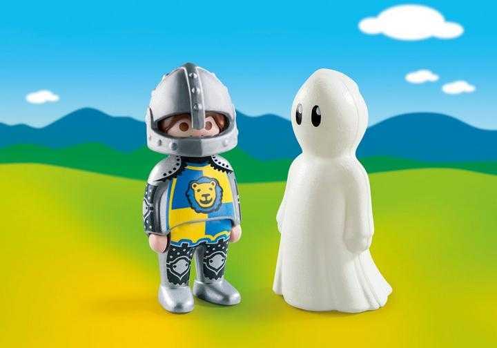 PLAYMOBIL Ridder en spook (70128)