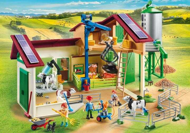 PLAYMOBIL Boerderij met silo en dieren (70132)