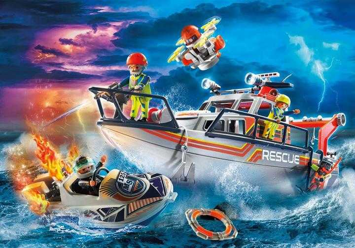 PLAYMOBIL Fire Rescue with Personal Watercraft (70140)