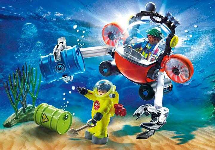 PLAYMOBIL Environmental Expedition with Dive Boat (70142)