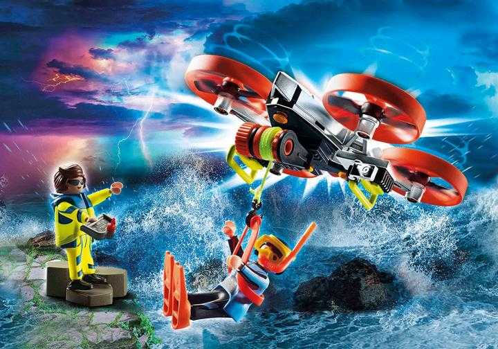 PLAYMOBIL Diver Rescue with Drone (70143)