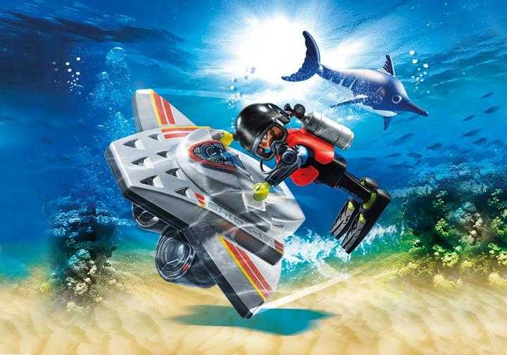 PLAYMOBIL Diving Scooter (70145)