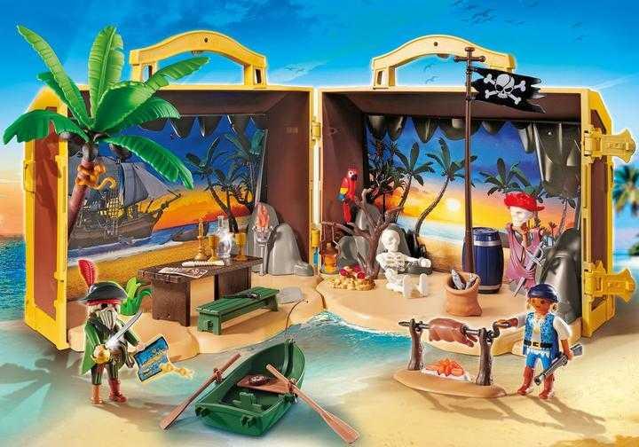 PLAYMOBIL Meeneem pirateneiland (70150)