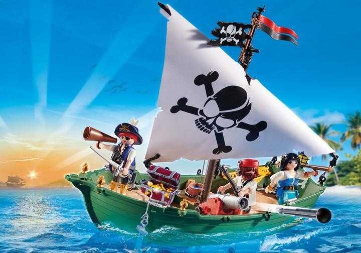 PLAYMOBIL Piratenschiff (70151)