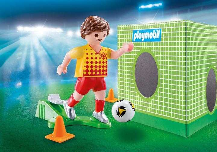 PLAYMOBIL Voetballer met doel (70157)