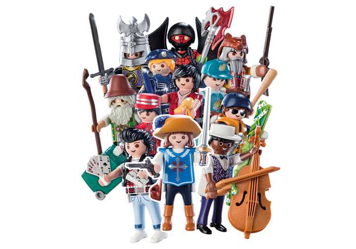 PLAYMOBIL-Figures Boys (S16) (70159)