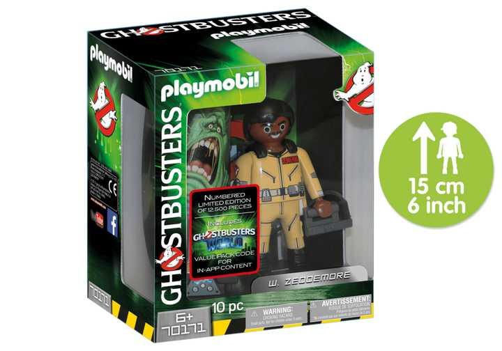 PLAYMOBIL Ghostbusters™ Sammlerfigur W. Zeddemore (70171)