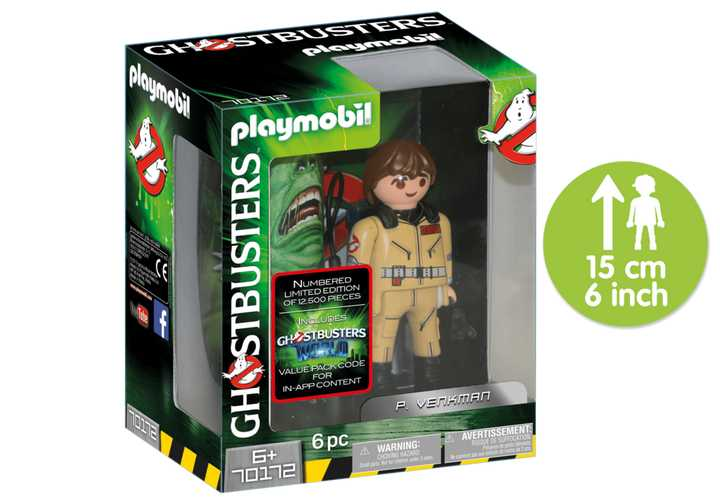 PLAYMOBIL Ghostbusters™ Sammlerfigur P. Venkman (70172)
