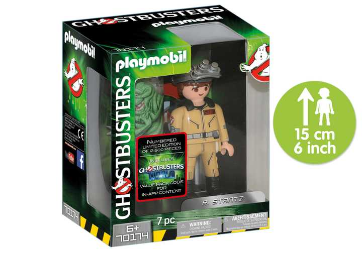 PLAYMOBIL Ghostbusters™ Collector's Edition R. Stantz (70174)