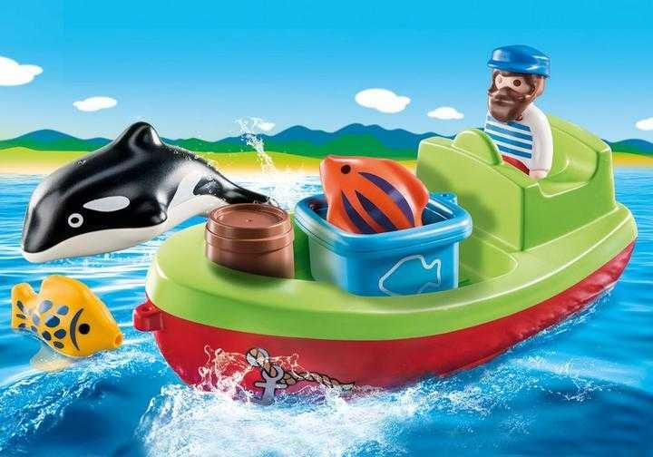 PLAYMOBIL Vissersboot (70183)