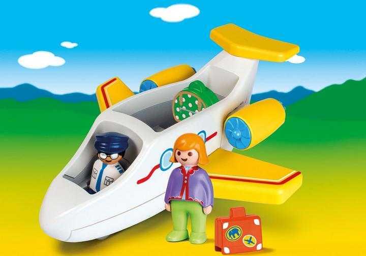 PLAYMOBIL Passagierflugzeug (70185)