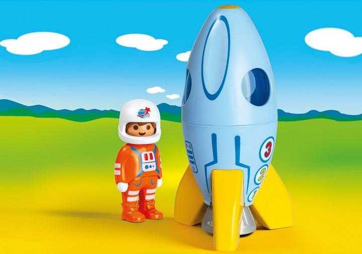 PLAYMOBIL Astronaut met raket (70186)