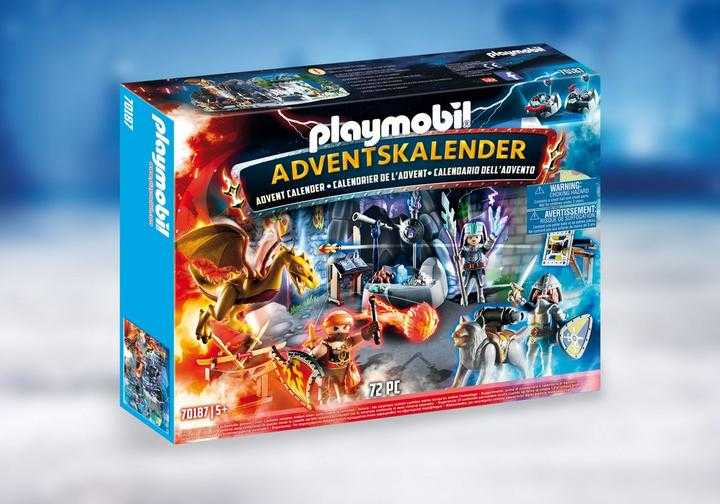 PLAYMOBIL Advent Calendar - Fight for the magic Stone (70187)