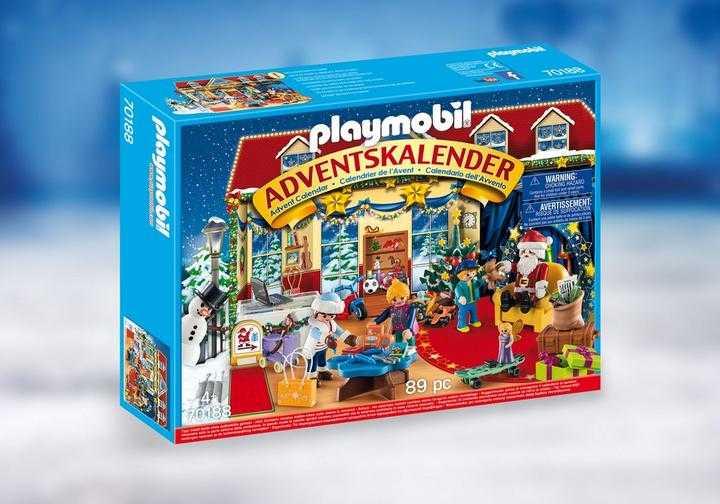version allemande Playmobil 70188 Calendrier Adventskalender Jouet Multicolore Taille unique