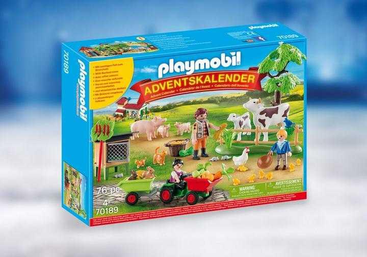 "PLAYMOBIL Adventskalender ""de boerderij"" (70189)"