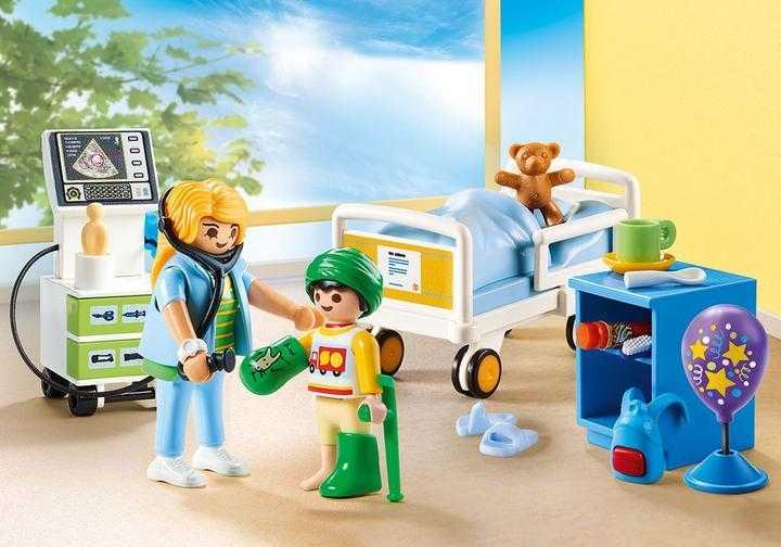 PLAYMOBIL Kinderziekenhuiskamer (70192)