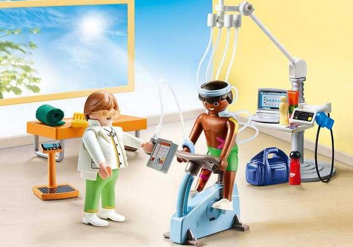 PLAYMOBIL Praktijk fysiotherapeut (70195)