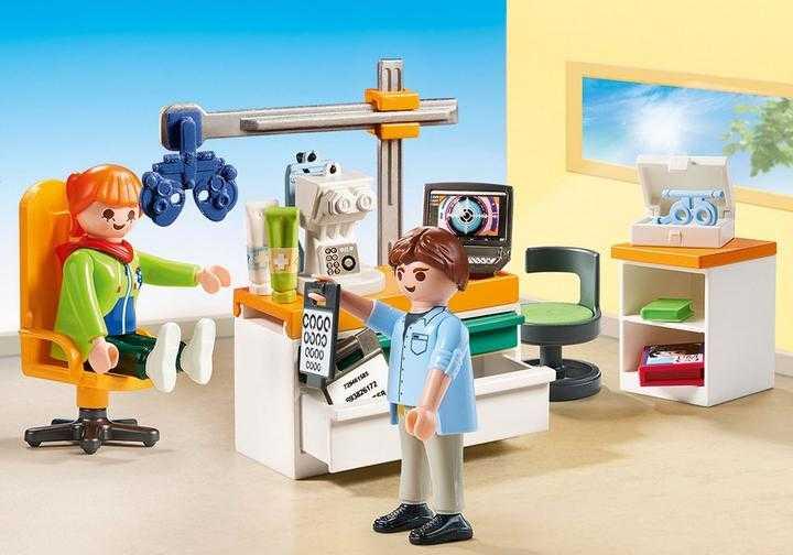 PLAYMOBIL Beim Facharzt: Augenarzt (70197)