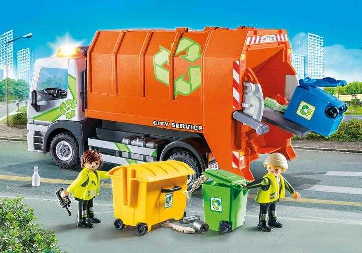 PLAYMOBIL Afval recycling truck (70200)