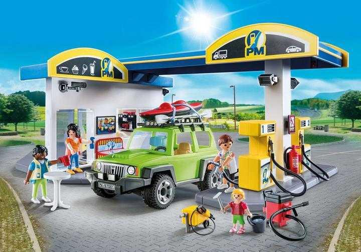 PLAYMOBIL Große Tankstelle (70201)
