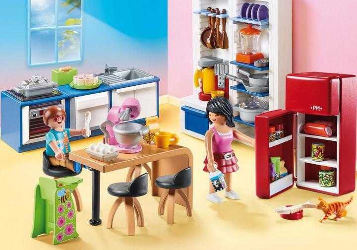 PLAYMOBIL Familienküche (70206)