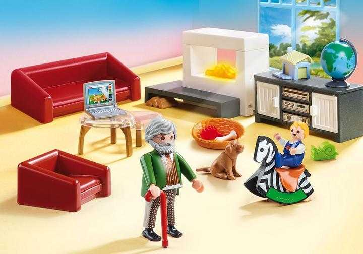 PLAYMOBIL Gemütliches Wohnzimmer (70207)