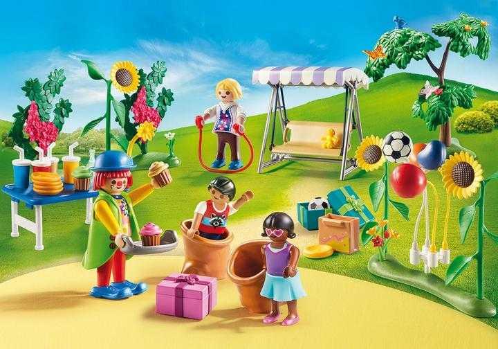 PLAYMOBIL Kinderfeestje met clown (70212)