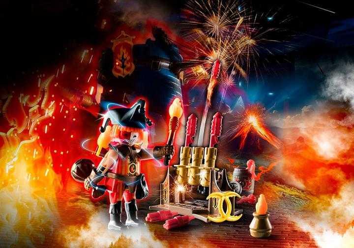 PLAYMOBIL Burnham Raiders Feuerwerkskanonen und Feuermeister (70228)