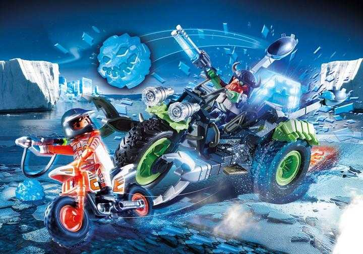 PLAYMOBIL Arctic Rebels Sneeuwtrike (70232)
