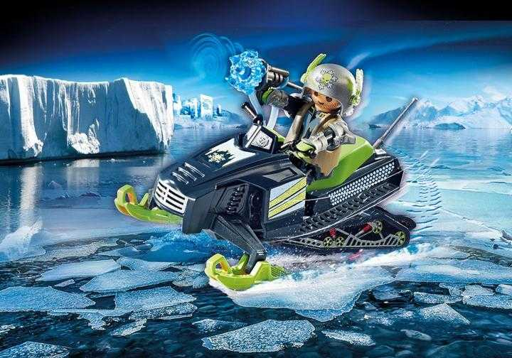 PLAYMOBIL Arctic Rebels Sneeuwscooter (70235)