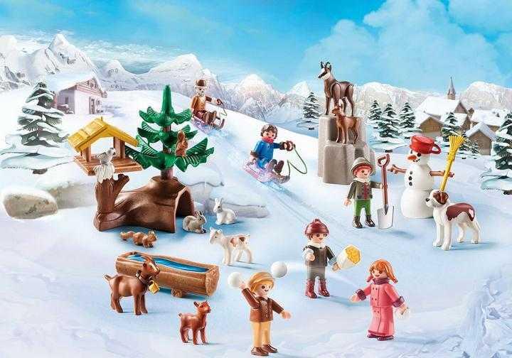 PLAYMOBIL Heidi's Winterwereld Adventskalender (70260)