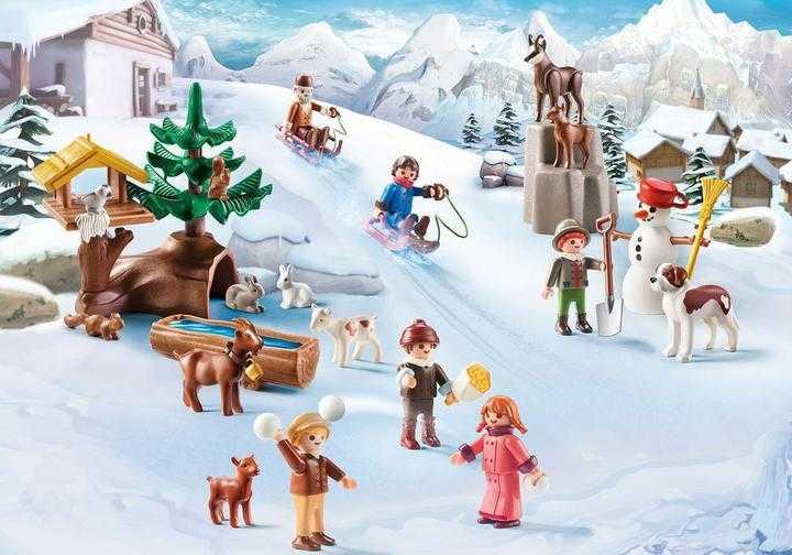 PLAYMOBIL Heidis Winterwelt (70261)