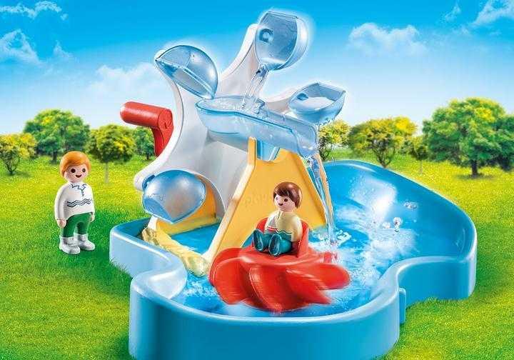 PLAYMOBIL Waterrad met carrousel (70268)
