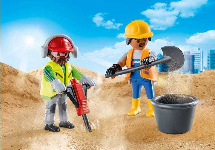 PLAYMOBIL Zwei Bauarbeiter (70272)