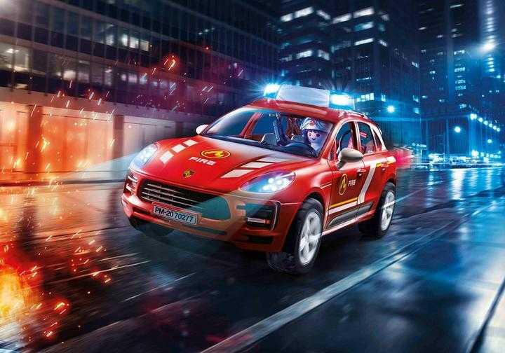 PLAYMOBIL Porsche Macan S Feuerwehr (70277)